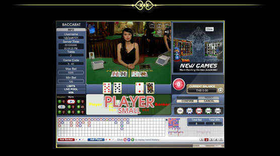 1scasino baccarat